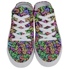 Money Currency Rainbow Half Slippers