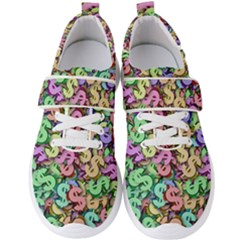 Money Currency Rainbow Men s Velcro Strap Shoes