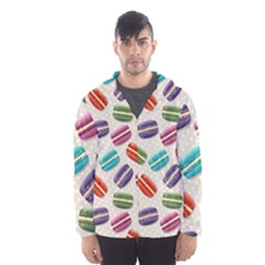 Macaron Bread Men s Hooded Windbreaker