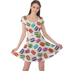 Macaron Bread Cap Sleeve Dress