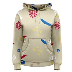 Pattern Culture Tribe American Women s Pullover Hoodie