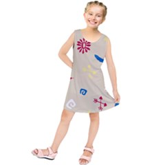 Pattern Culture Tribe American Kids  Tunic Dress