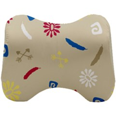 Pattern Culture Tribe American Head Support Cushion