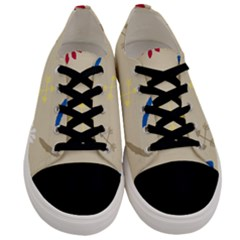 Pattern Culture Tribe American Men s Low Top Canvas Sneakers