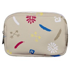 Pattern Culture Tribe American Make Up Pouch (small)