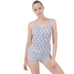 Ornamental Star Mandala Boyleg Tankini Set