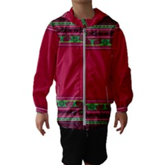 Ornaments Mexico Cheerful Kids  Hooded Windbreaker