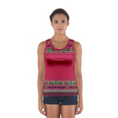 Ornaments Mexico Cheerful Sport Tank Top
