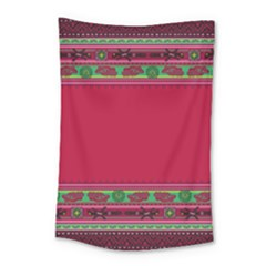 Ornaments Mexico Cheerful Small Tapestry by HermanTelo