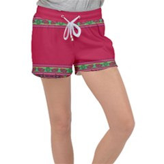 Ornaments Mexico Cheerful Women s Velour Lounge Shorts