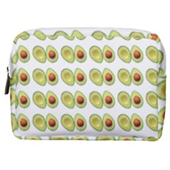 Pattern Avocado Green Fruit Make Up Pouch (medium)