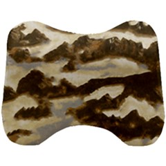 Mountains Ocean Clouds Head Support Cushion