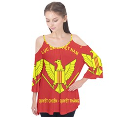 Flag Of Army Of Republic Of Vietnam Flutter Tees