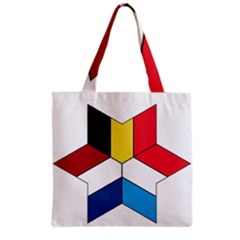 Benelux Star Grocery Tote Bag by abbeyz71