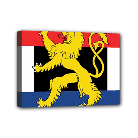 Flag Of Benelux Union Mini Canvas 7  X 5  (stretched) by abbeyz71