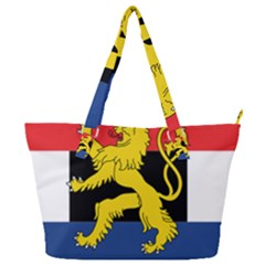 Flag Of Benelux Union Full Print Shoulder Bag by abbeyz71