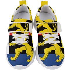 Flag Of Benelux Union Kids  Velcro Strap Shoes by abbeyz71