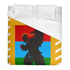 Coat Of Arms Of Russian Republic Of Karelia Duvet Cover (full/ Double Size) by abbeyz71