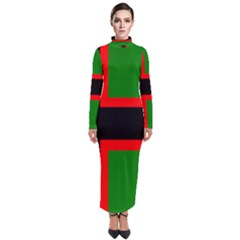 Karelia Nationalist Flag Turtleneck Maxi Dress by abbeyz71