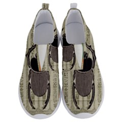 Egyptian Design Beetle No Lace Lightweight Shoes by Sapixe
