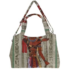 Egyptian Design Man Royal Double Compartment Shoulder Bag by Sapixe