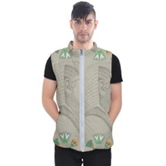 Pharaoh Egyptian Design Man King Men s Puffer Vest by Sapixe