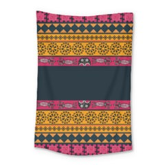 Pattern Ornaments Africa Safari Small Tapestry by HermanTelo
