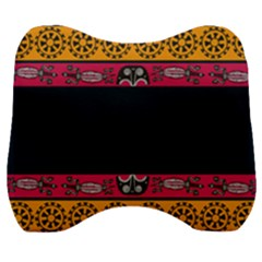 Pattern Ornaments Africa Safari Velour Head Support Cushion