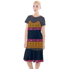 Pattern Ornaments Africa Safari Camis Fishtail Dress