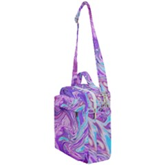 Pattern Texture Art Rainbow Crossbody Day Bag