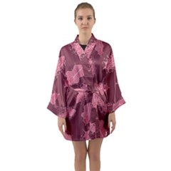 Plumelet Pen Ethnic Elegant Hippie Long Sleeve Kimono Robe