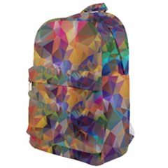 Polygon Wallpaper Classic Backpack