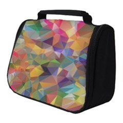 Polygon Wallpaper Full Print Travel Pouch (small)
