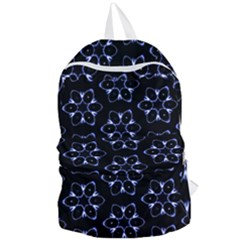 Purple Circle Wallpaper Foldable Lightweight Backpack by HermanTelo