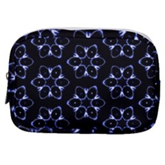 Purple Circle Wallpaper Make Up Pouch (small)