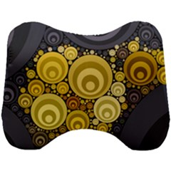 Retro Color Style Head Support Cushion