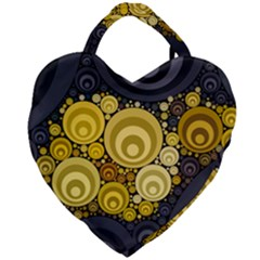 Retro Color Style Giant Heart Shaped Tote