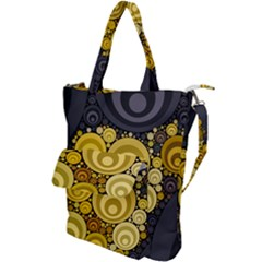 Retro Color Style Shoulder Tote Bag