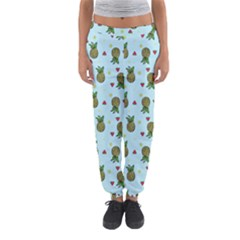 Pineapple Watermelon Fruit Lime Women s Jogger Sweatpants by HermanTelo