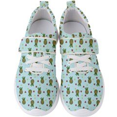 Pineapple Watermelon Fruit Lime Men s Velcro Strap Shoes by HermanTelo
