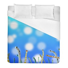 Sea Underwater Life Fish Duvet Cover (full/ Double Size) by HermanTelo