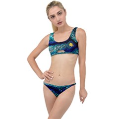 Sea Coral Stained Glass The Little Details Bikini Set