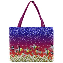 Sea Snow Christmas Coral Fish Mini Tote Bag