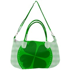 Shamrock Luck Day Removal Strap Handbag
