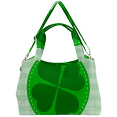Shamrock Luck Day Double Compartment Shoulder Bag