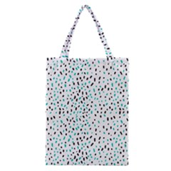 Seamless Texture Fill Polka Dots Classic Tote Bag