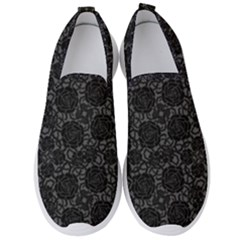Thorns Have Roses Men s Slip On Sneakers