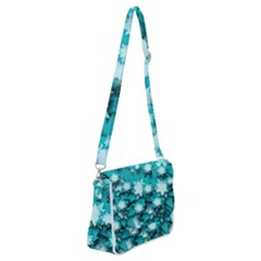 Stars Christmas Ice 3d Shoulder Bag With Back Zipper