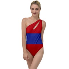 Flag Of Armenian Socialist Republic, 1952 1990 To One Side Swimsuit by abbeyz71