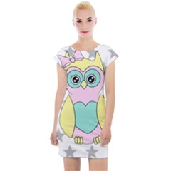 Sowa Child Owls Animals Cap Sleeve Bodycon Dress